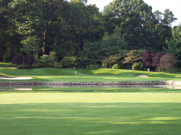 Baltusrol 4th hole