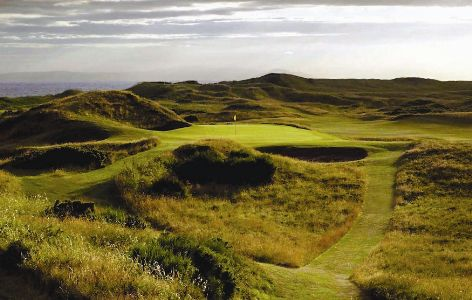Royal Troon eighth hole