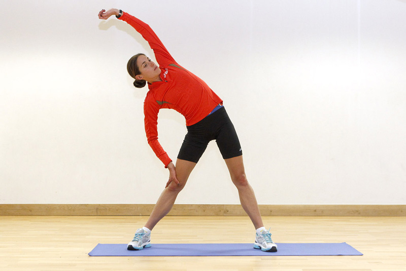 lateral bend stretch